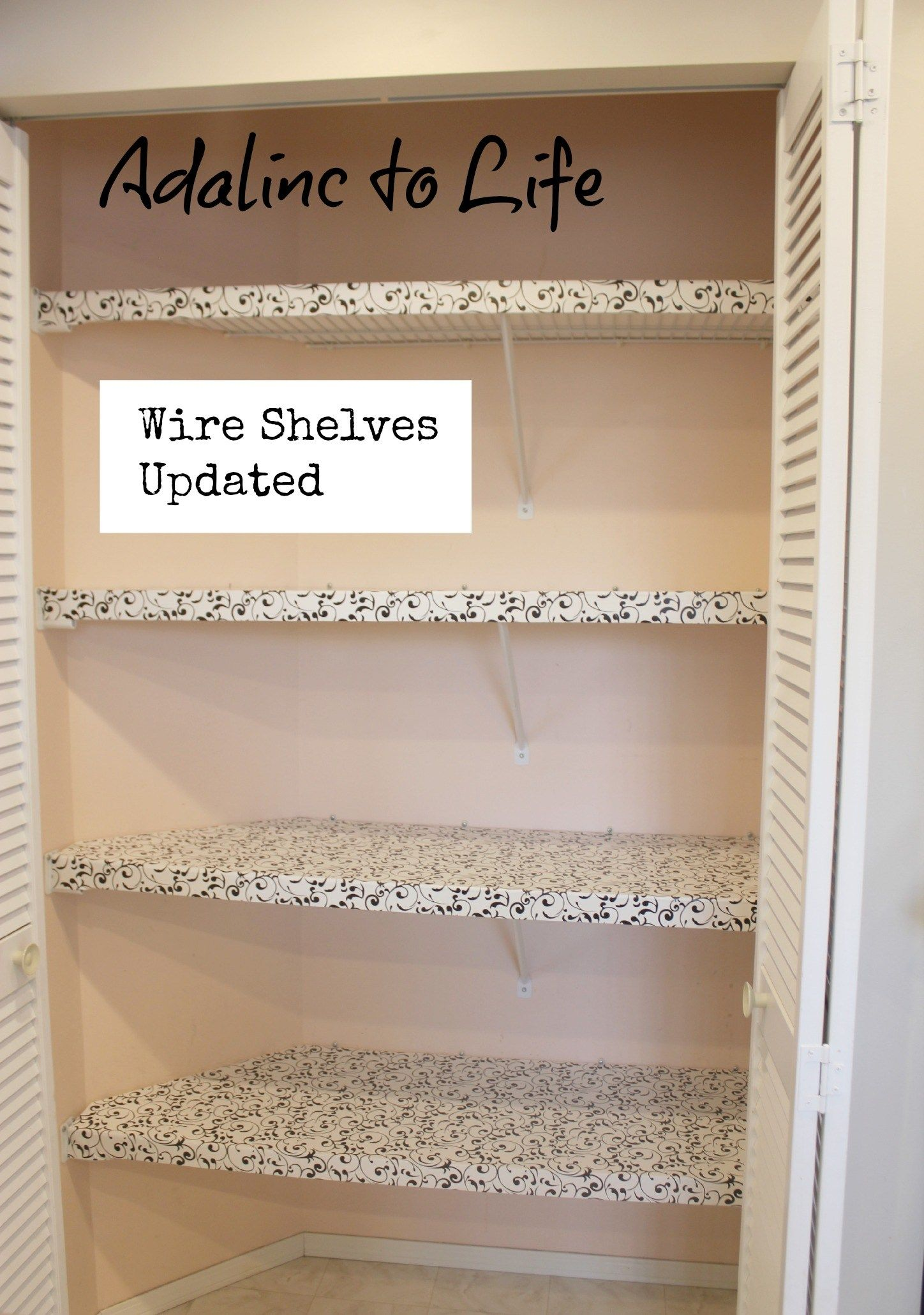 Peachy Diy Pantry Makeover Apartment Pantry Makeover Wire Interior Design Ideas Clesiryabchikinfo