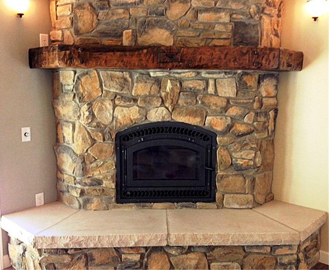 20++ Rustic fireplace mantels info   LivingRoomReference