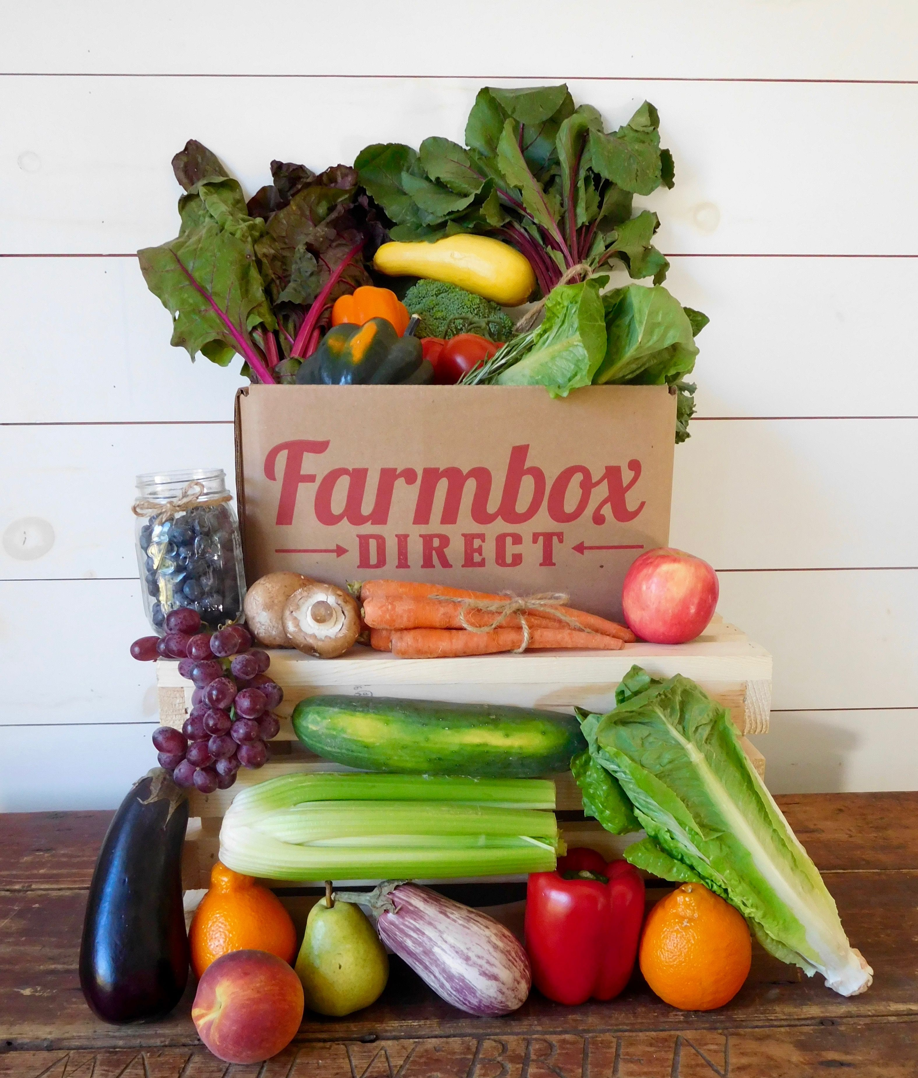 Make Eating Healthy Easy! Farm Fresh Produce Delivered