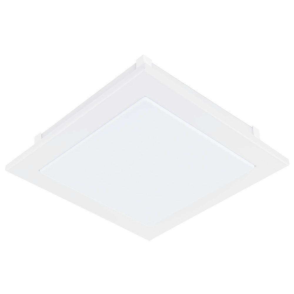 bedroom lighting - Eglo Auriga 1-Light White LED Wall or Ceiling ...
