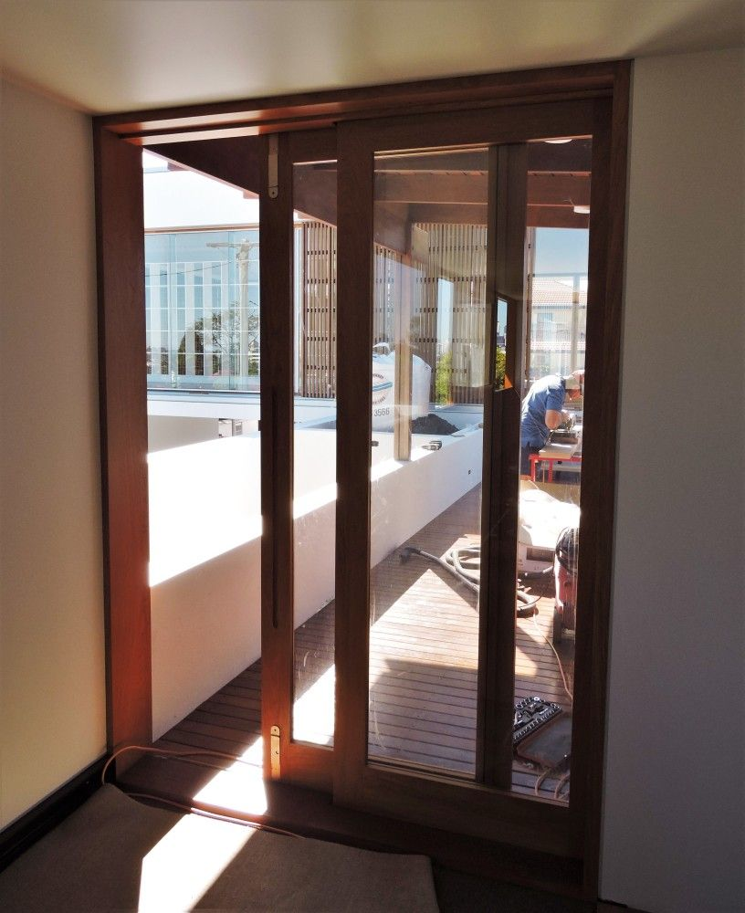 Timber Glass Doors 2 Leaf Xo Configuration Timber Sliding Doors With Centor Drop
