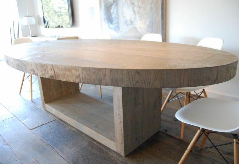 Mesas Comedor Ideas De Madera Elegancia Y Estabilidad Mesas De Comedor Ovalada Mesas De Comedor Muebles De Comedor