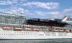 Cruise Ship Fires Princess Cruise Lines Princess Cruise Ships Cruise Ship