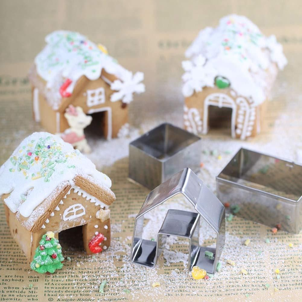 Gingerbread House Cookie Cutter Set #inspireuplift explore Pinterest