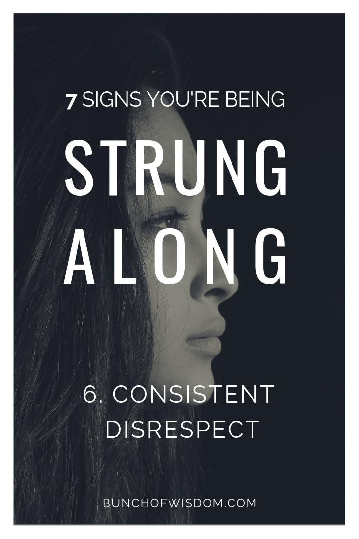 7 Definite Signs You're Being Strung Along by a Guy | Blog