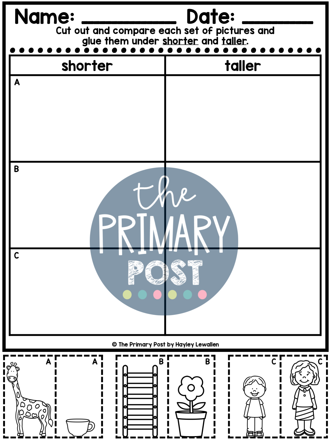 Measurement Worksheets In