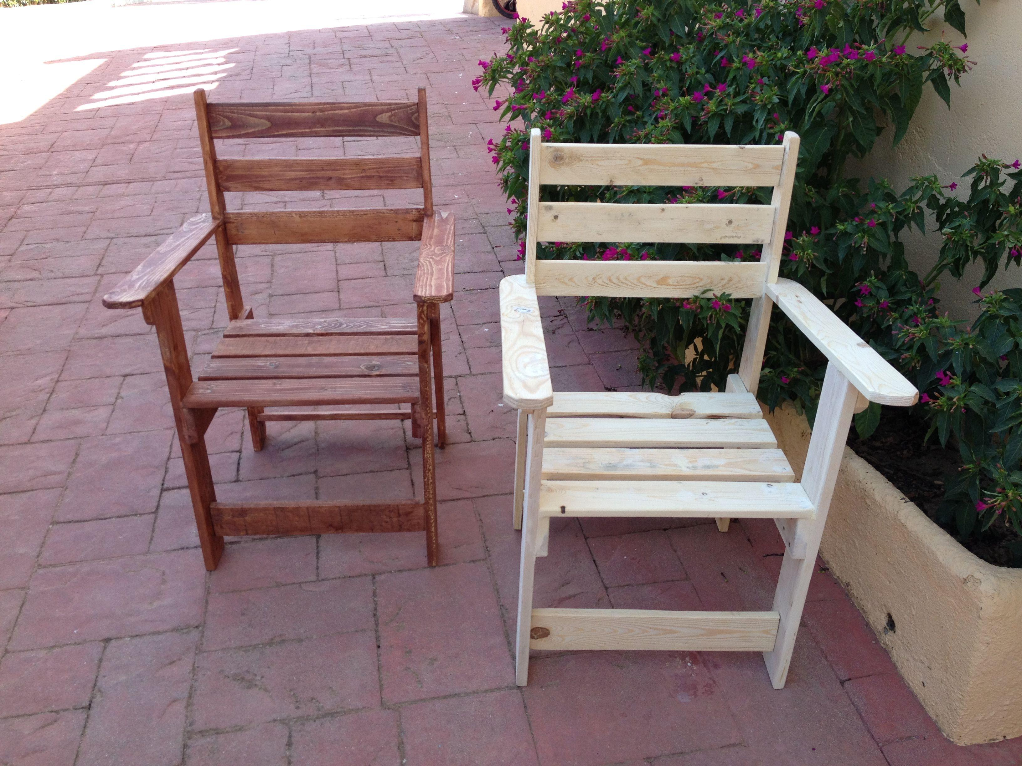 sillas muebles para terrazas