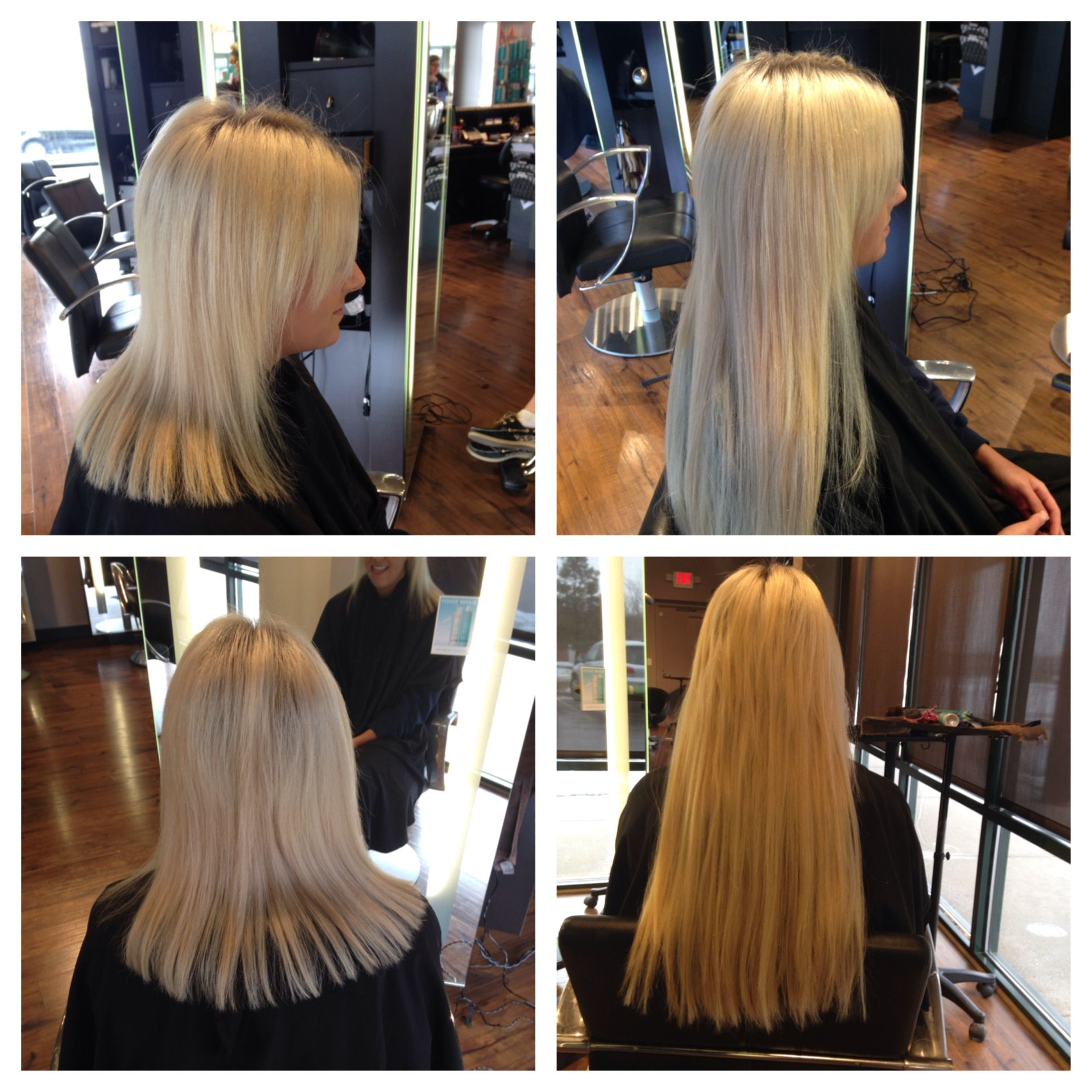 Fusion Bond Hair Extensions By Bliss Hair Studio Artistic Director