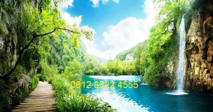 32 Wallpaper Pemandangan Alam Asli Downloads Maharaj Wallpaper Jual Beli Wallpaper Dinding Pemandangan Alam 3d Mura Di 2020 Pemandangan Gambar Awan Galaxy Wallpaper