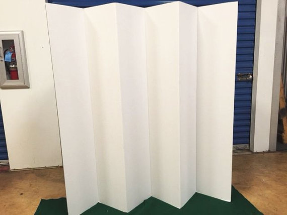 MADE IN AMERICA AND HANDFOLDED BY AMERICAN WORKERS Lets Keep - Diy cardboard room divider privacy screen