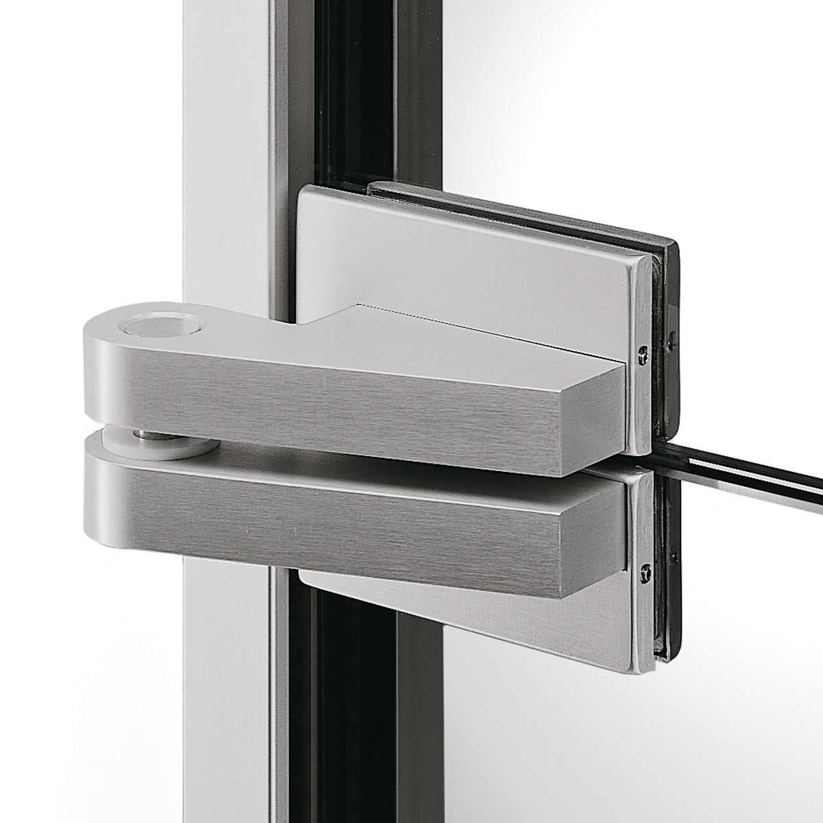 Patch fittings typical application for glass door with patch fittings - Dorma Ea Patch Fittings