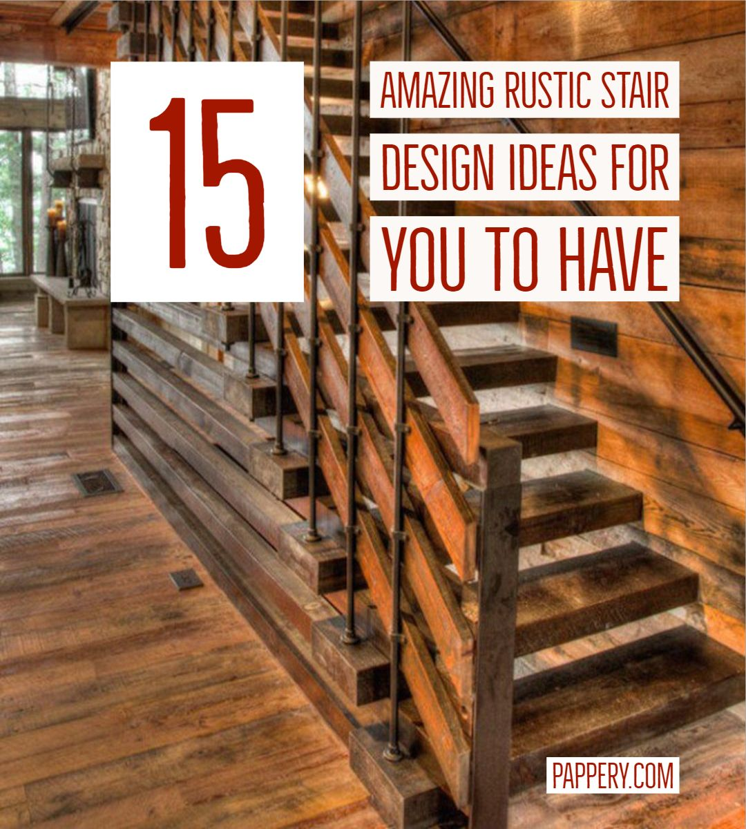 15 Incredible Mediterranean Staircase Designs That Will: Top 15 Amazing Rustic Stair Design Ideas For You To Have