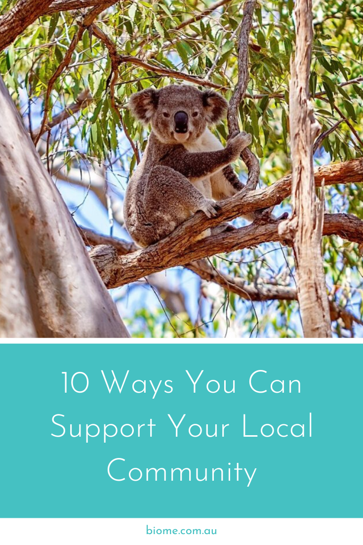 Ways Your Can Support Your Local Community Biomes