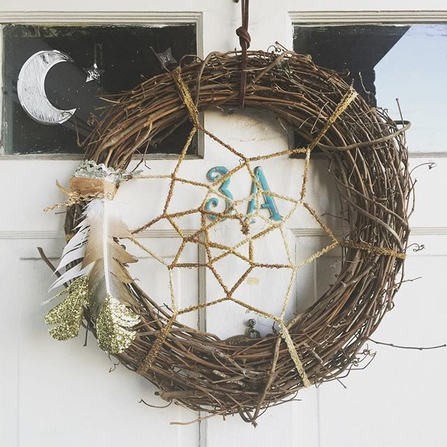 More Dreamcatcher Wreaths In The Works ✨ Crafts Pinterest Magnificent Dream Catcher Works