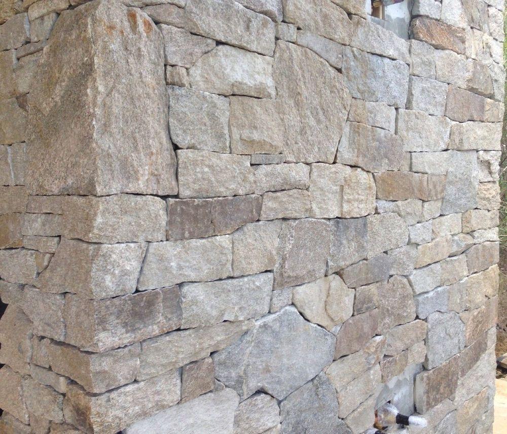 Stone Wall Cladding : Alpine granite stack stone cladding hotham for feature