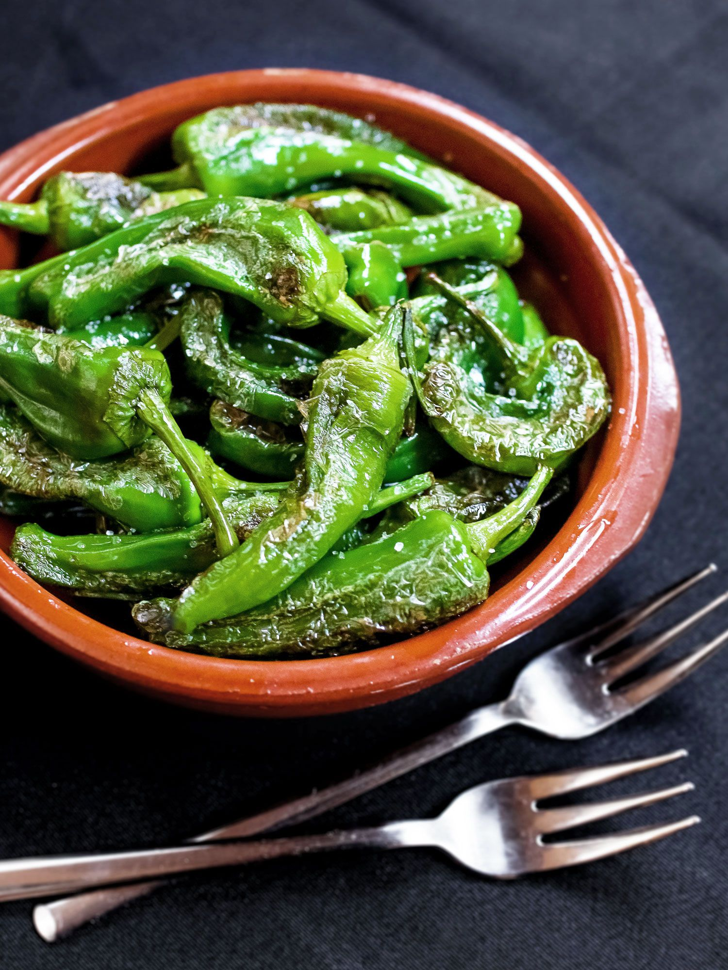 Spanish tapas-style green pepper | K33 Kitchen – Plant-based and vegan recipes