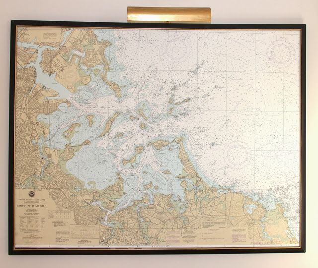 How To Mount And Frame A Large Map Or Artwork Shine Your Light