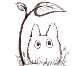Dessin originale dessin pinterest dessin totoro et - Idee de dessin facile ...