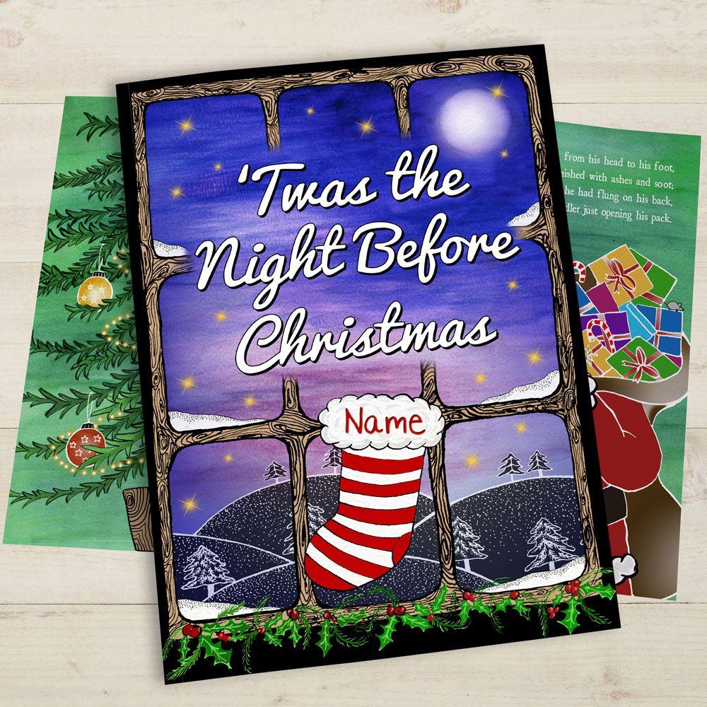 'Twas the Night Before Christmas is a timeless poem by