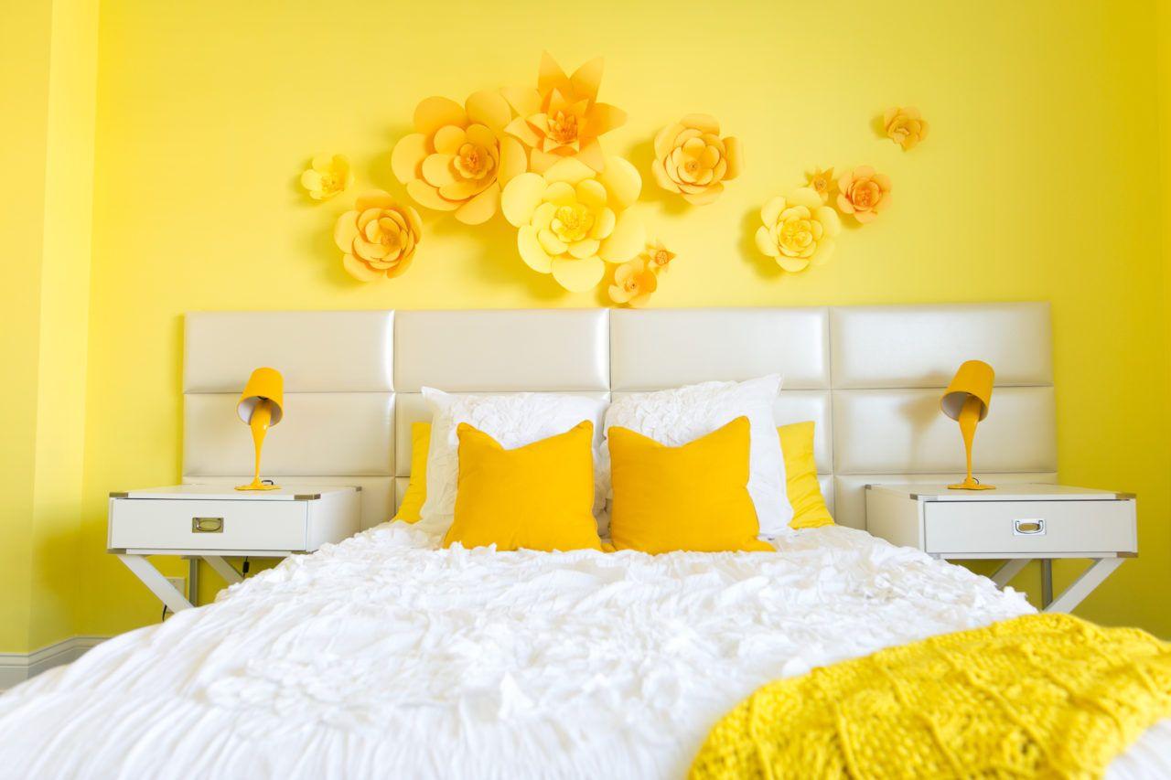 Adelaine Morin's Hello Yellow Bedroom Makeover In 2019