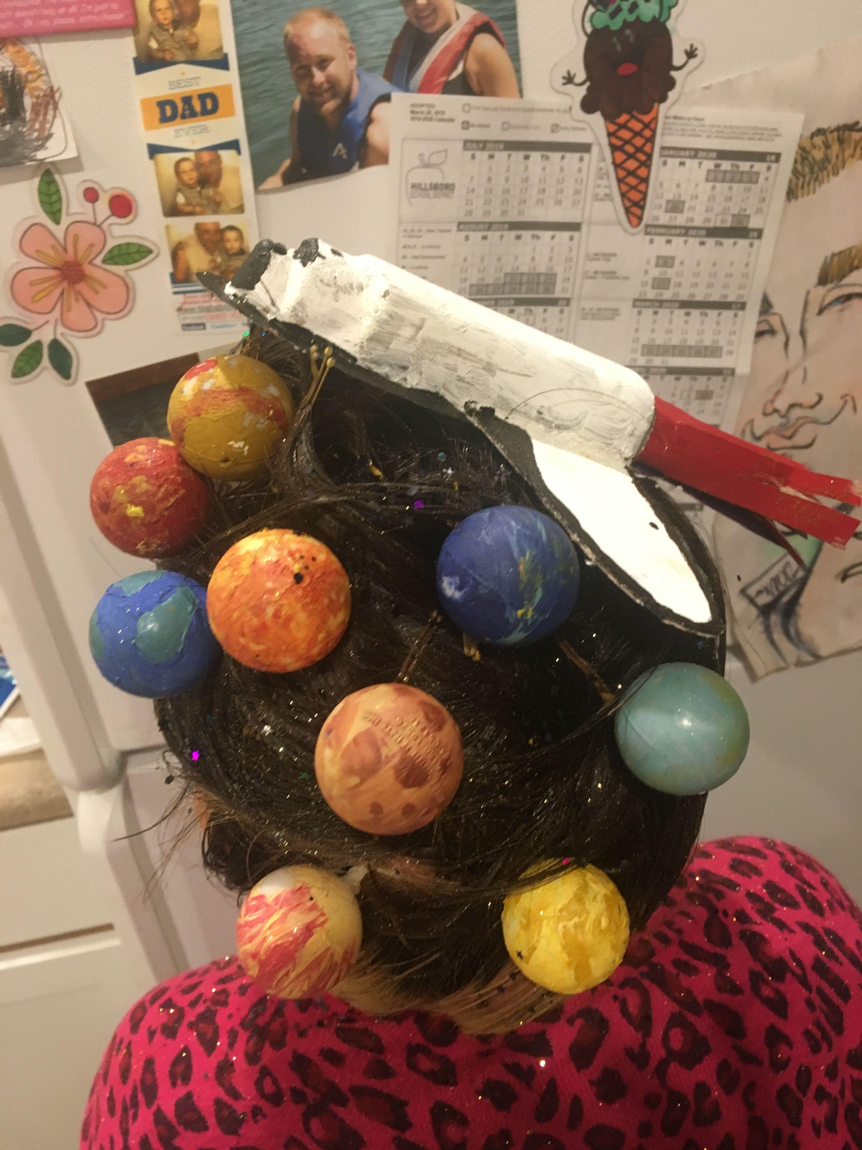 Dollar tree head band bobby pins ping pong balls paint