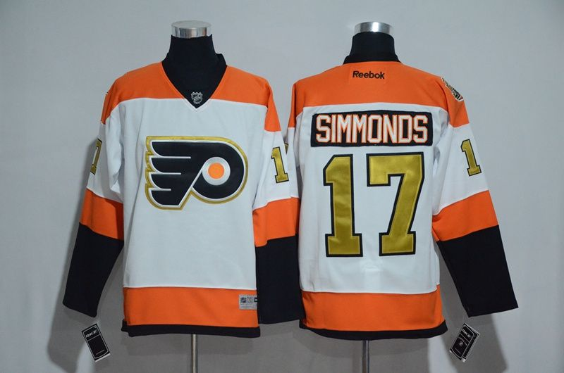 official photos 45aae cd56a Philadelphia Flyers #17 Wayne Simmonds Orange Mens Hockey ...