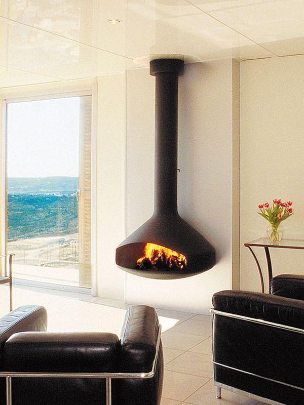 Cheminée design Paxfocus #ChemineeFocus #fireplace #cheminee