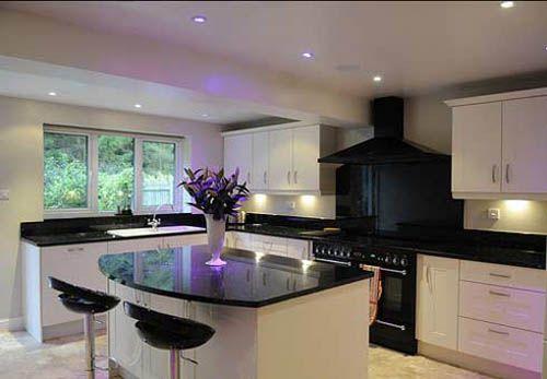 cocina iluminacion cocina moderna snafabcom iluminacion para cocinas modernas