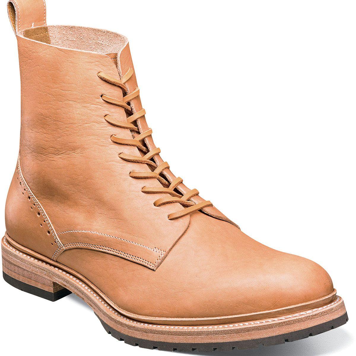 Pin on plain toe boot
