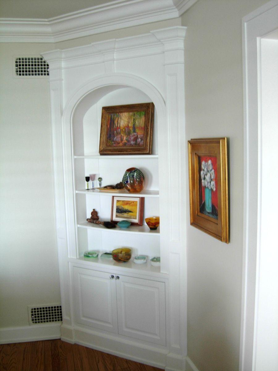 Dining Room Built-Ins - corner btw living room? | For the Home ...