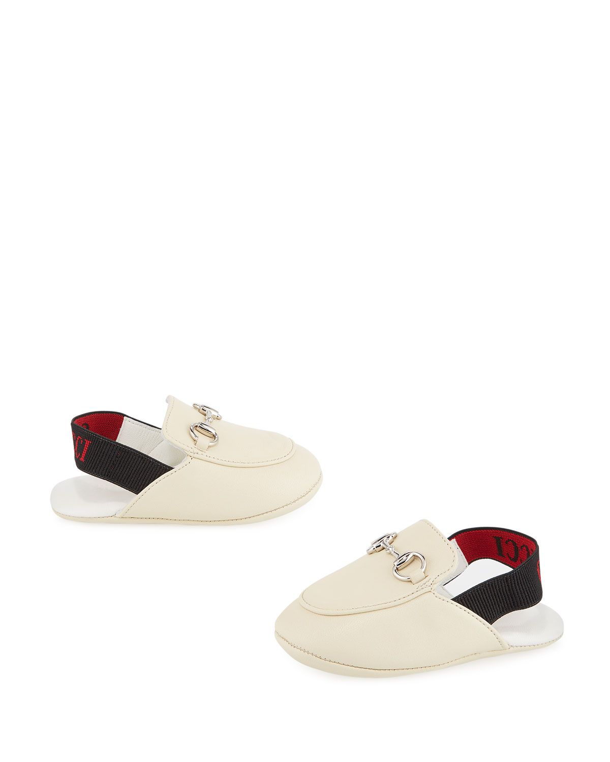 e10b1438 GUCCI PRINCETOWN LEATHER HORSEBIT MULE SLIDES, BABY/TODDLER. #gucci ...