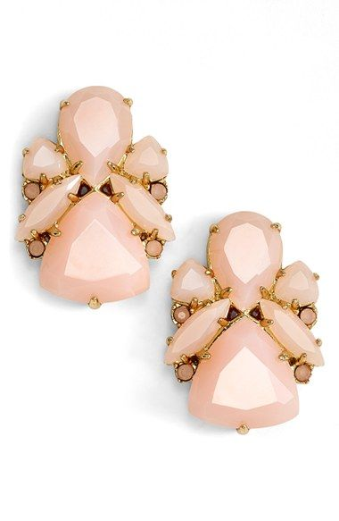 kate spade new york 'color pop' statement stud earrings available at #Nordstrom