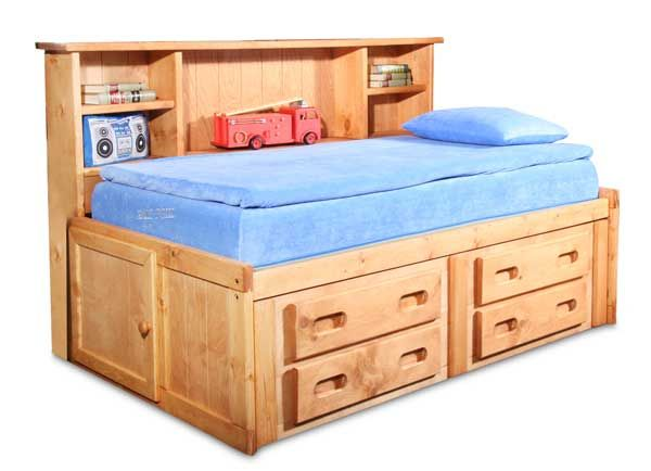 bunkhouse twin captains bed more