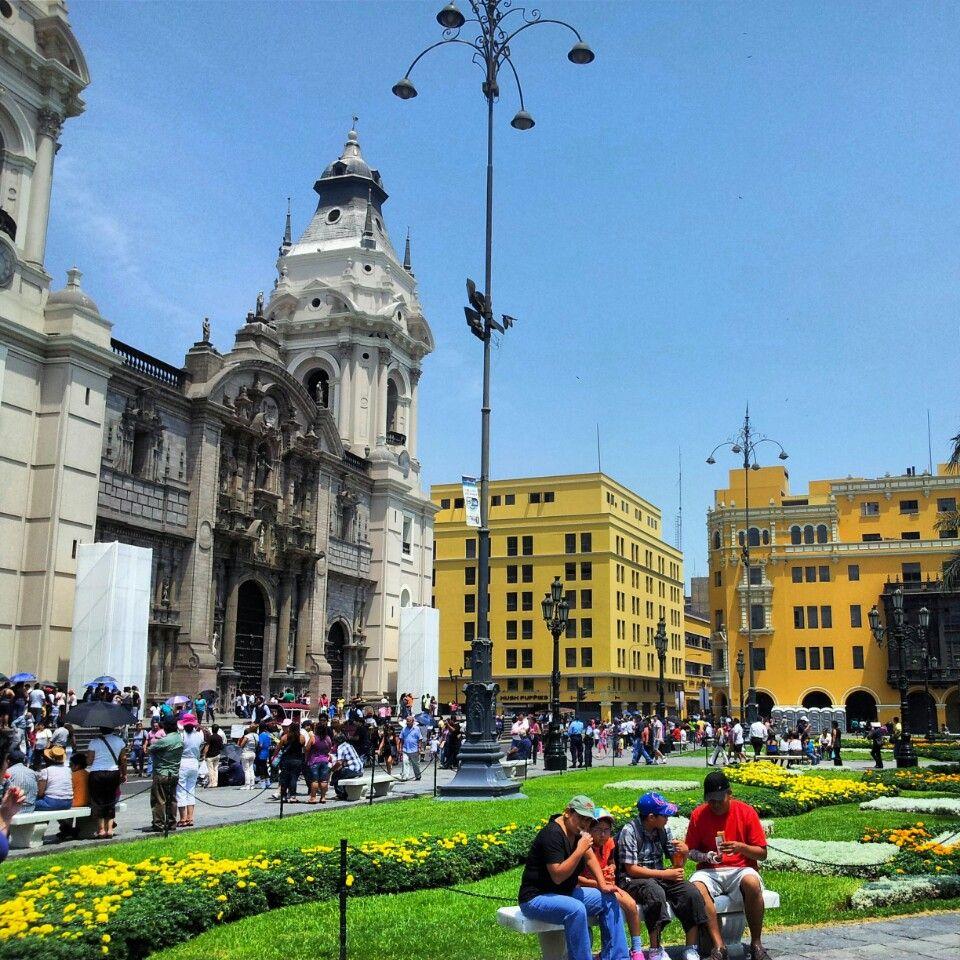 Lima In Peru Lima City Travel Around The World Inca Trails