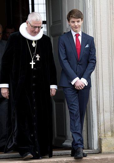 prins christian konfirmation