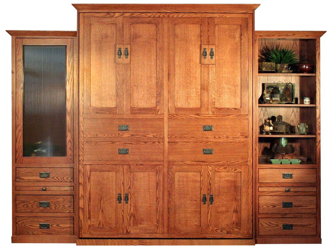 American Craftsman Murphybed Style   Wilding Wallbeds