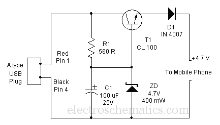 charger wiring diagram also circuit diagram usb car chargers wiring