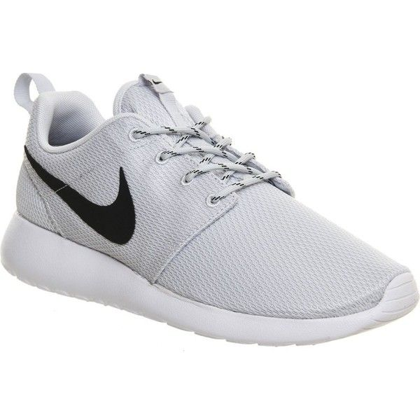 8c0ac729c0bd NIKE Roshe run trainers (£70) ❤ liked on Polyvore featuring shoes ...