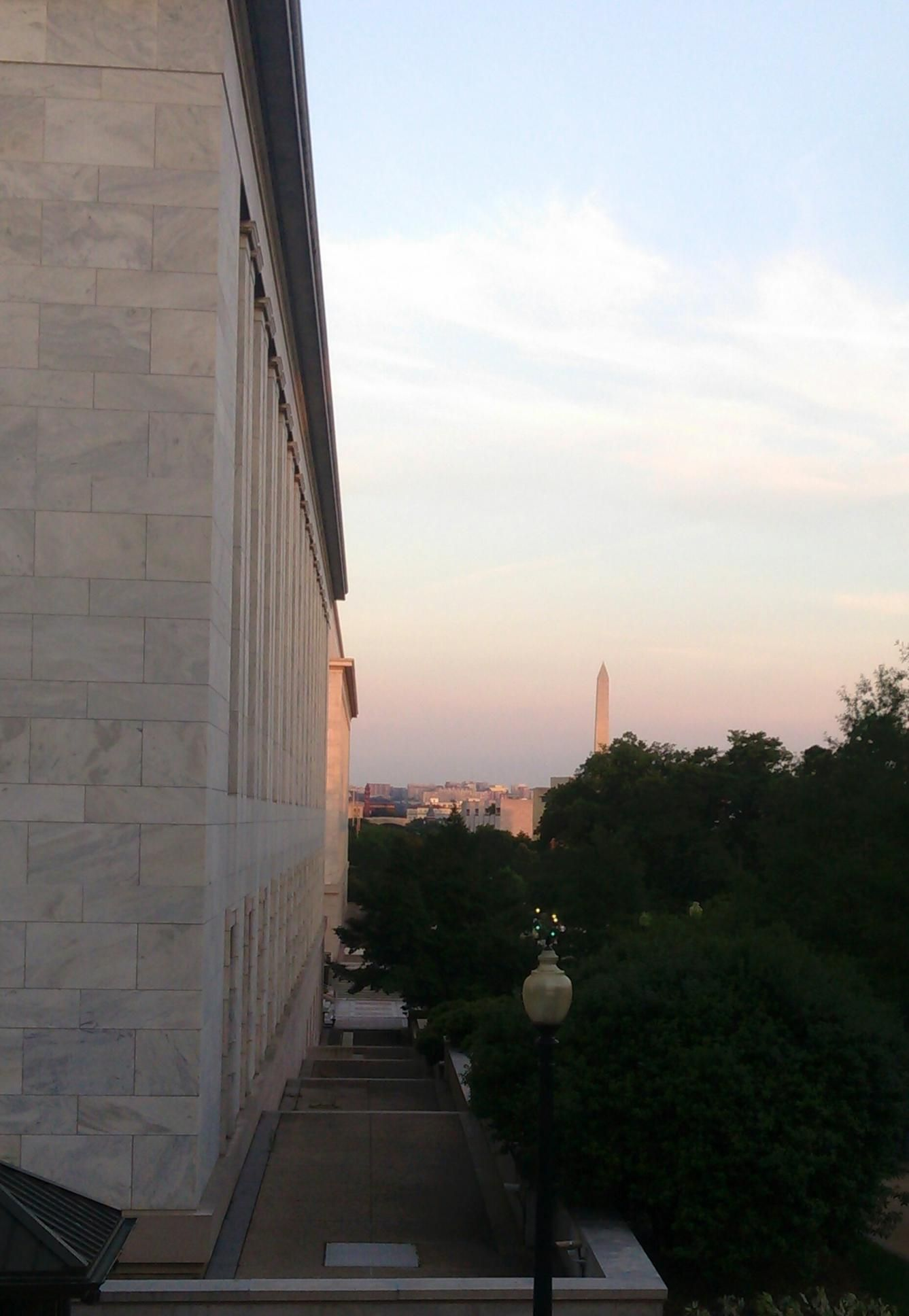 Washington Monument From The House Of Representatives