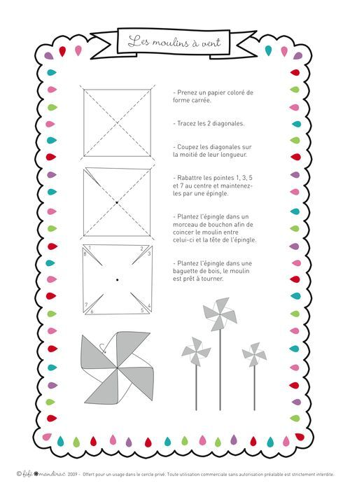 How To Make A Paper Pinwheel Toy Paper Windmill Kids Craft Paper