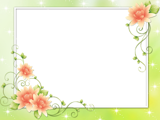 Flower Frame Pack Png Syedimran Flower Frame Flower Frame Png Butterfly Frame