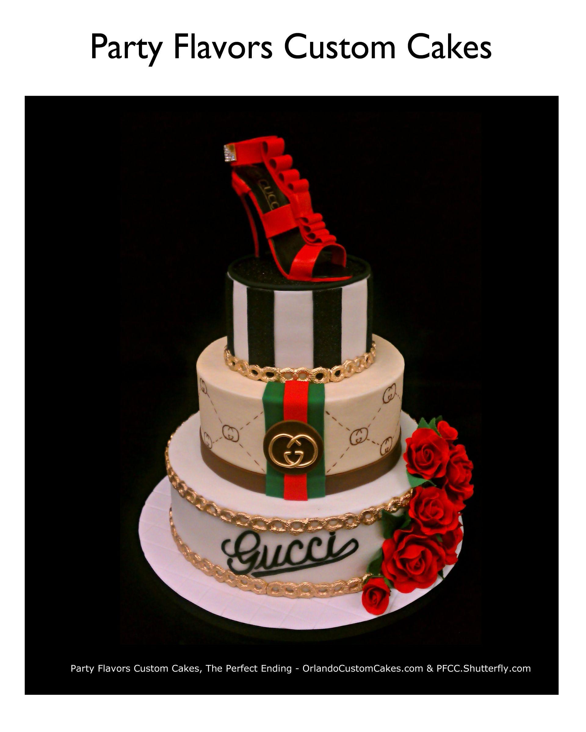 c80b762e5b22c6 Gucci Buttercream Cake   Designers Birthday Cake in 2019   Cake ...