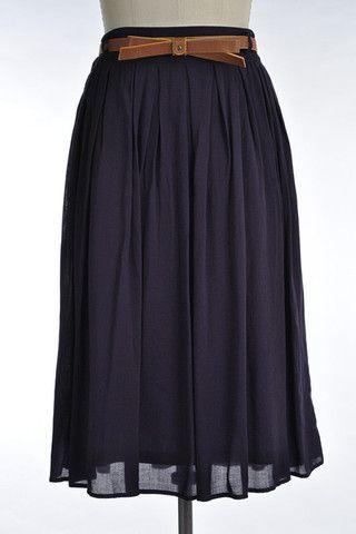 Midnight Meadow Skirt