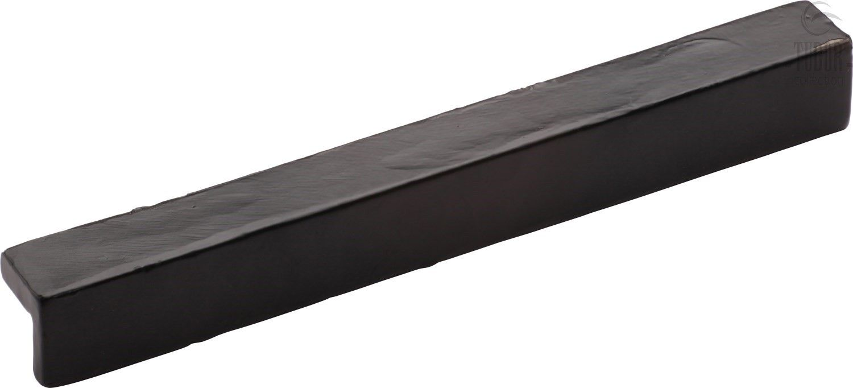 Marcus L Pull Cupboard Pull Handle Black Iron Centres 96mm Cupboard Handles Iron Marcus Black