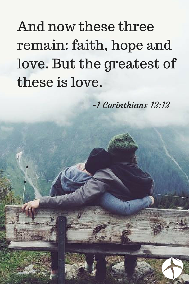 there's nothing better than god's definition of love. i want to
