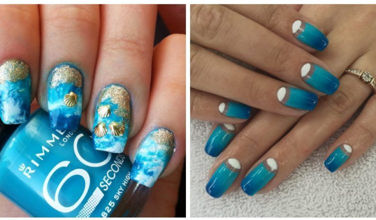 Summer nails 2018: fashionable trends of summer 2018 nail colors ...