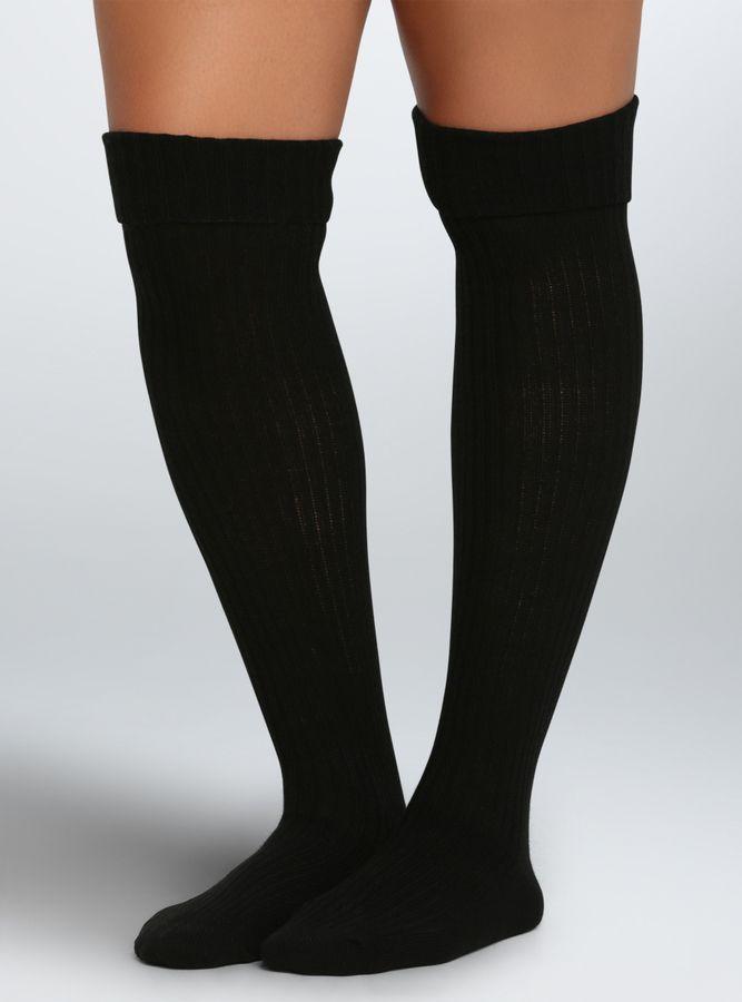 b59935c7230 Plus Size Wide Calf Boot Socks - Plus Size Knee-High Socks