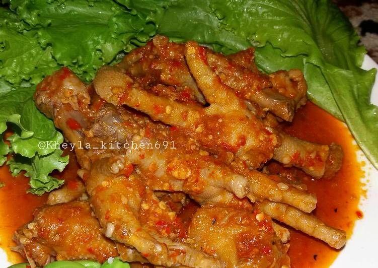 Resep Ceker Pedas Simple Ala Kheyla Oleh Kheyla S Kitchen Resep Resep Ayam Tumis