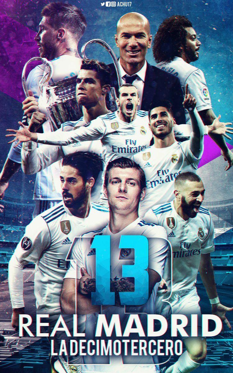 Lucky 13th Realmadrid Equipo Real Madrid Espana Futbol Fondos De Pantalla Real Madrid