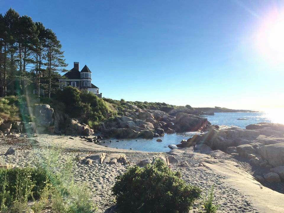The Beach At Biddeford Pool Me Maine Us Travel Natural Landmarks